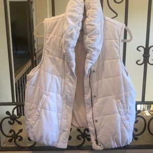 Pilcro & the Latterpress cozy corduroy vest EUC